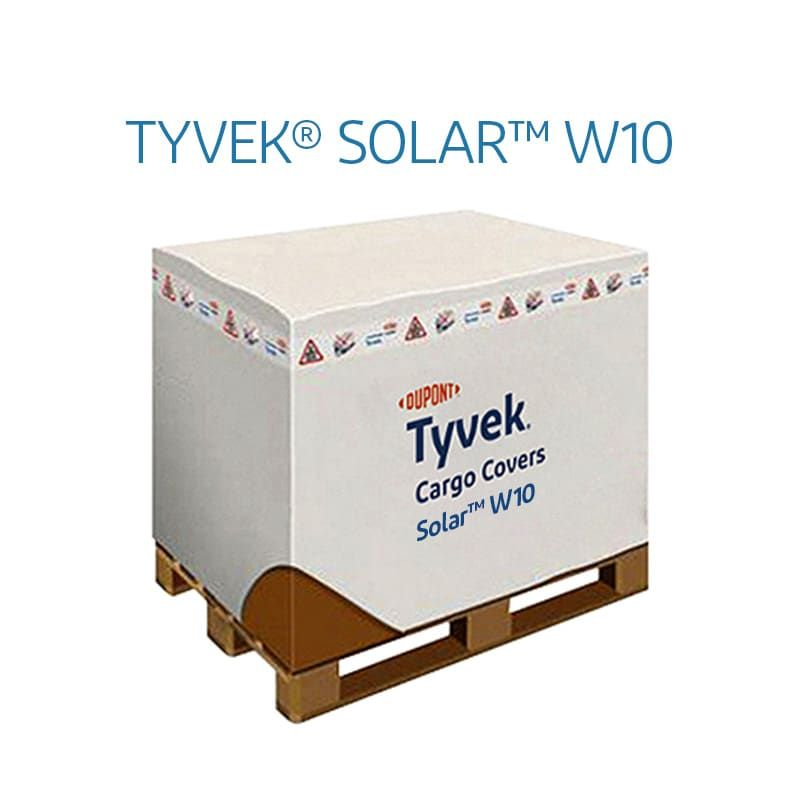 DuPont™ Tyvek® Solar™ W10 Housse protection air cargo UK/US 120x100x30 Basecover D14611997 housse isotherme