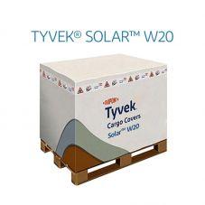 DuPont™ Tyvek® Solar™ W20 Housse protection air cargo EUR 120x80x160 - Couverture de palette thermique, housse isotherme