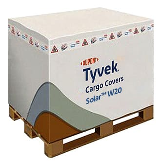 Air Cargo Cover Housses de protection DUPONT ™ TYVEK ® SOLAR ™  Palettes de transport EUR UK/USA