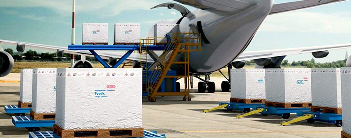 AirCargoCover Housses de protection DUPONT ™ TYVEK ® SOLAR ™  W10 W20 W50